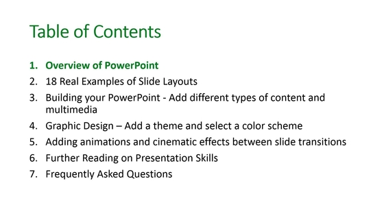 Basic Presentation Tools Video On Demand Part   Overview Of