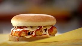 Buffalo Ranch Chicken Strip Sandwich