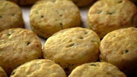 Jalapeno Cheddar Biscuit