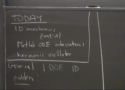 03 - 1D mechanics
