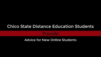 Advice for New Online Students - Ariana